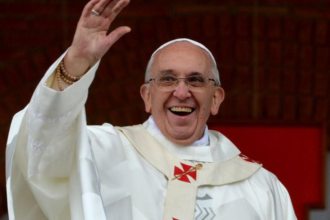 Durante la Jornada Mundial de la Juventud, Francisco dijo: No traigo oro...