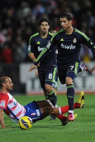 Ronaldo estuvo activo, pero no pudo tirar de su equipo esta vez.