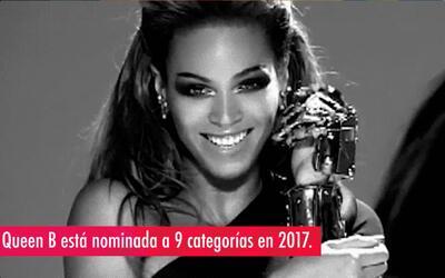 Beyoncé: la reina de las nominaciones a los Grammy Awards 2017