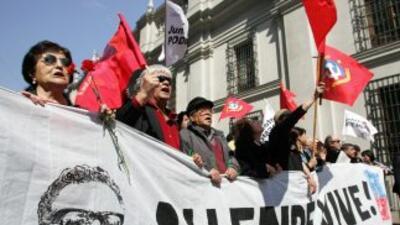 En Chile necesitan saber bien cuáles fueron las causas por las que murió...