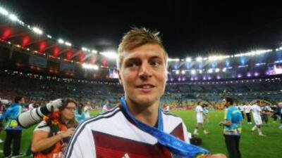 Toni Kroos ya es juagdor del Real Madrid.