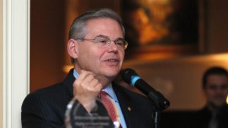 El senador Bob Menéndez.