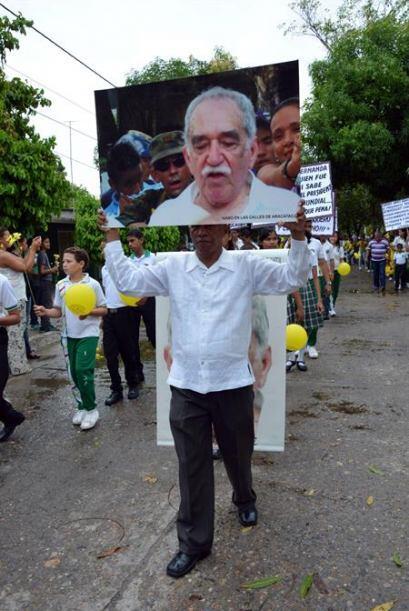 Aracataca, la tierra natal de Gabo despidió de manera simbólica a su hij...
