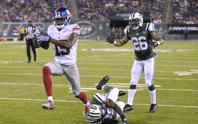 Giants - Jets: Dramático triunfo de los Giants en el clásico de East Rut...