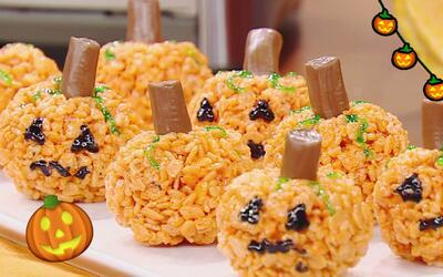 Prepara tú misma estos deliciosos dulces de miedo para la Noche de Brujas
