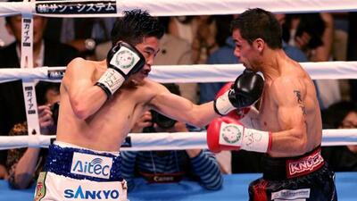 Katzuto Ioka superó a Juan Carlos Reveco para despojarlo del título mosc...