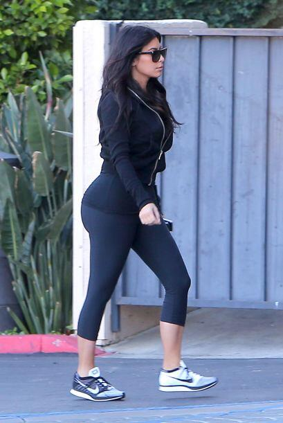 La mujer de Kanye West no puede pasar desapercibida.