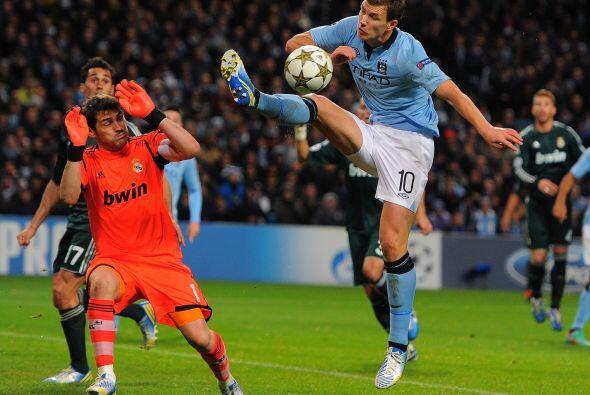 El City tenía ciertas oportunidades ante el arco español, pero Iker Casi...