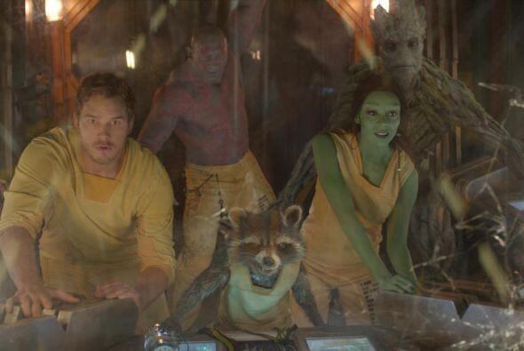"""Este año """"Guardians of the Galaxy"""" le hicieron ganar $771,826,145 a Marv..."""