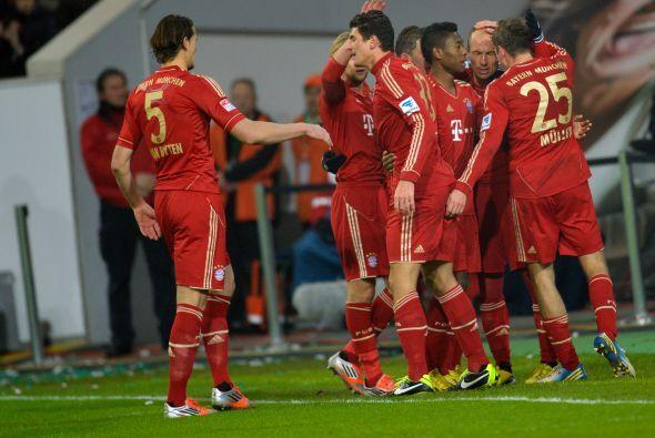 El conjunto bávaro y el catalán son líderes intratables de la Bundesliga...
