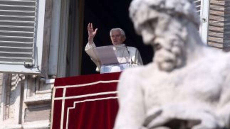 El papa Benedicto XVI.