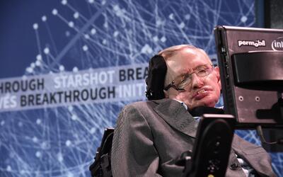 El científico británico Stephen Hawking no puede explicarse el fenómeno...