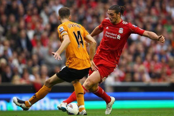 Los 'Reds' vencieron al Wolverhampton por 2 a 1.
