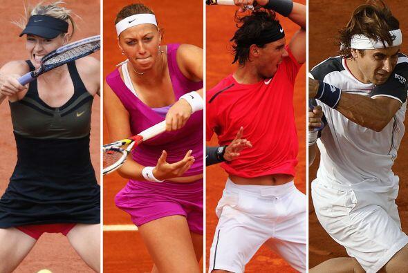 Ya quedaron completas las semifinales de Roland Garros con la jornada 11...