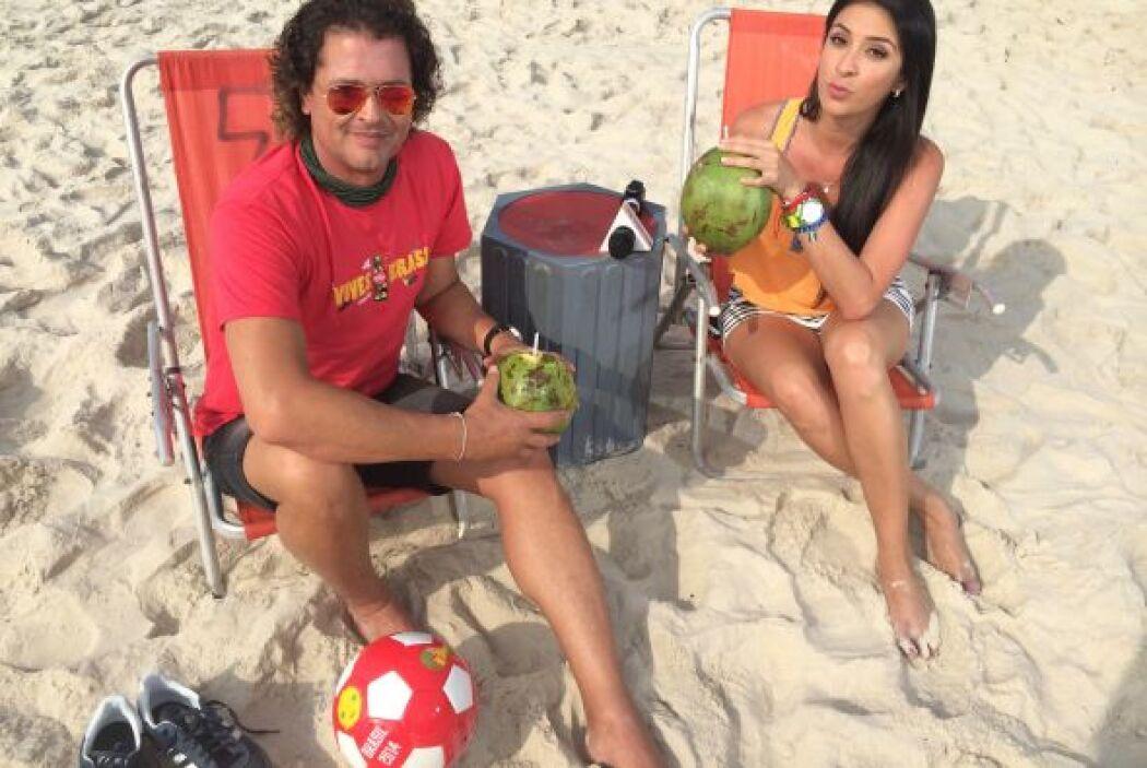 Además de disfrutar de las maravillas que nos ofrece Brasil, Carlos se h...