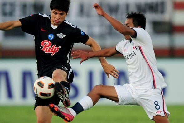 Libertad de Paraguay fue el primer equipo que clasificó a octavos de fin...