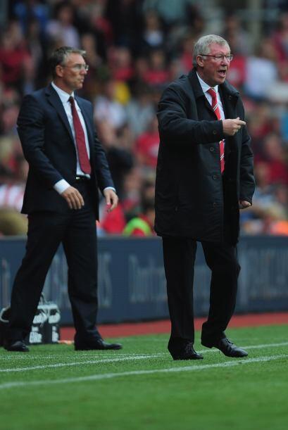 Buena reacción para los dirigidos por Alex Ferguson, que sufrieron demas...