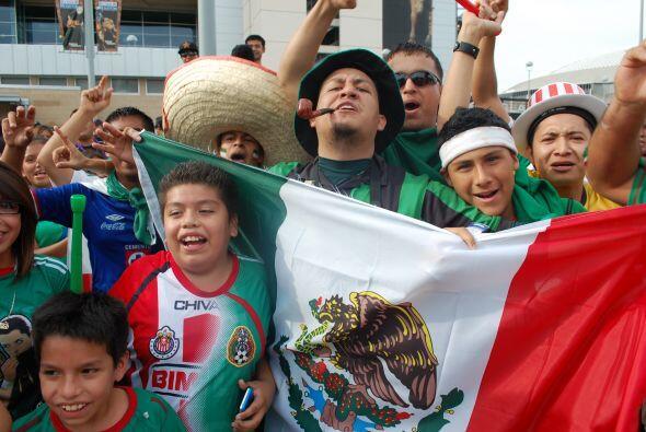 Vaya pasión de los fanáticos aztecas.