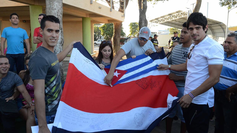 Cubanos agradecidos con Costa Rica