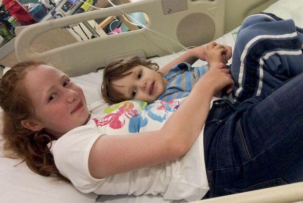 El trasplante se llevó a cabo el 27 de junio pasado y los hermanos se es...