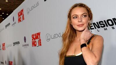 Lindsay Lohan en problemas con la ley.