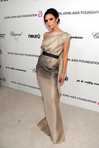 Victoria Beckham es un palito de mujer, su extrema delgadez y su falta d...