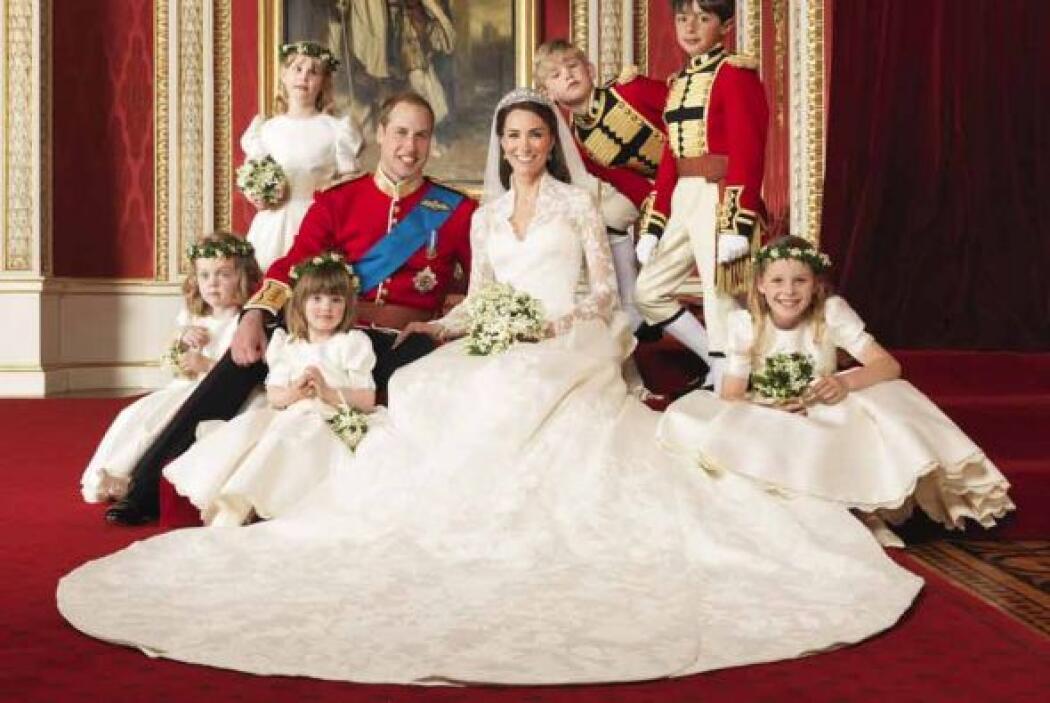 La pareja real ahora pasará a la historia con todo el romance y eleganci...