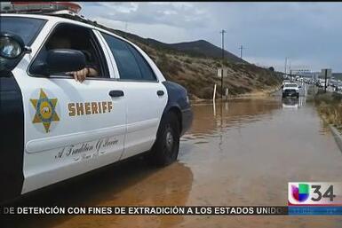 Tormentas e inundaciones en el sur de California