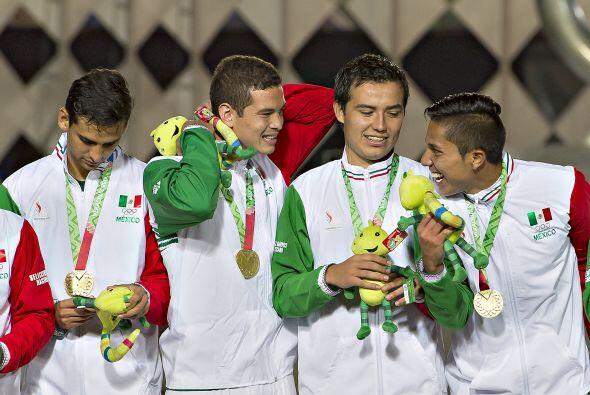 El defensor tuvo participación con el conjunto mexicano que disputó los...