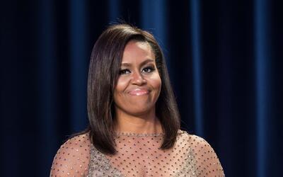 Michelle Obama y Barack Obama en la Cena de la Asociación de Corresponsa...