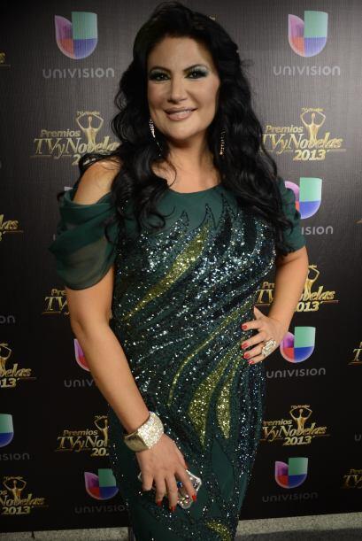 Alejandra Ávalos fue una de las presentadoras dentro de la gala.
