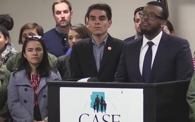 Líderes condenaron las acciones ejecutivas contra refugiados