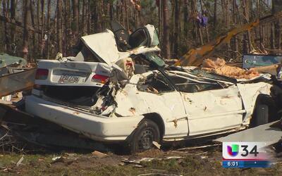 Familias lo perdieron todo tras el paso un tornado