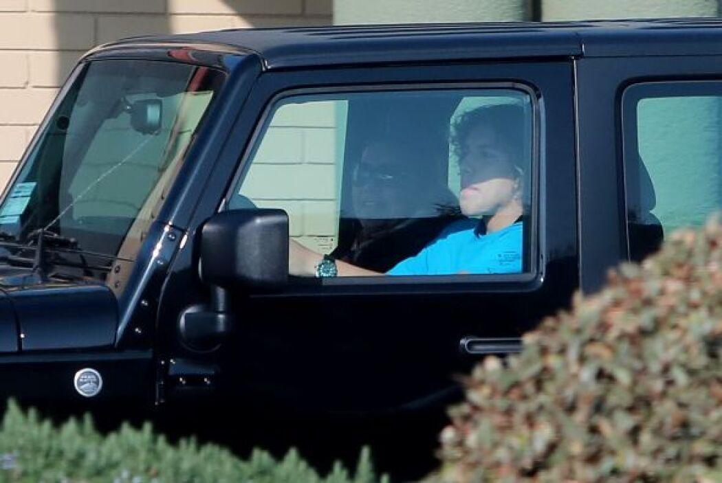 Este es el vehículo que Arnold le dio a su retoño. Más videos de Chismes...
