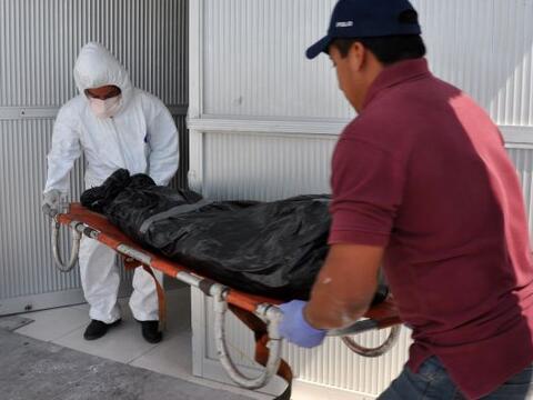 La fiscalía de Tamaulipas encontró otros 10 cuerpos, con lo que suman ya...