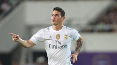 El colombiano participó en el duelo entre Real Madrid y Valerenga
