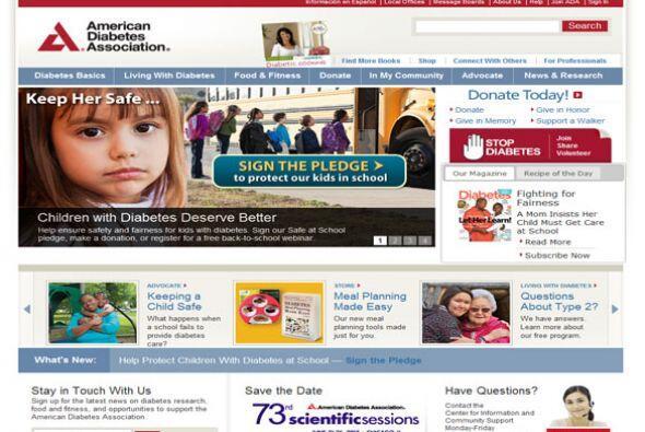 1. AMERICAN DIABETES ASSOCIATION  Sector de la industria: Organización s...