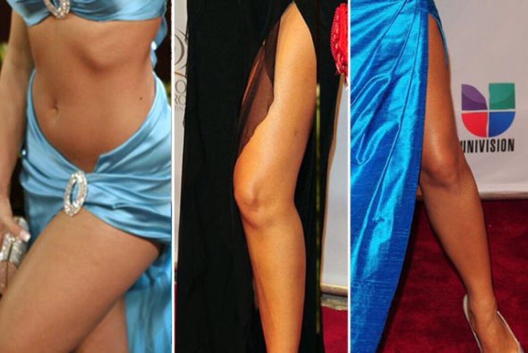 Estas cantantes, actrices y celebridades presumieron sus lindas piernas...