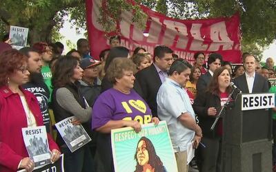 Organizaciones civiles de Los Ángeles preparan marcha multitudinaria par...
