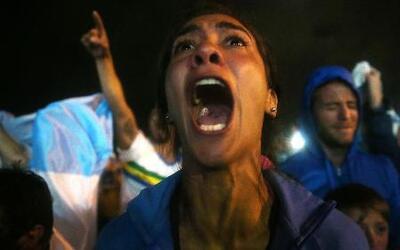 Así celebró Argentina su pase a la final