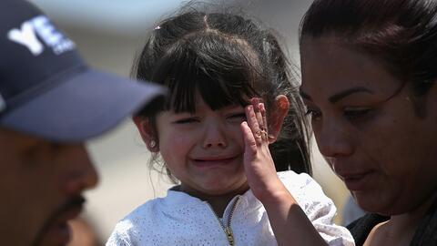 Desde mediados de 2014 unos 155,000 niños no acompañados han sido deteni...