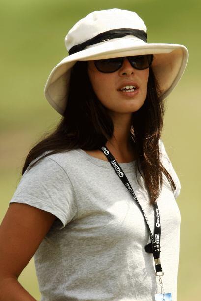 La belleza del día toca a la guapa tenista serbia, Ana Ivanovic,...