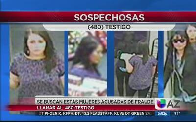 Se buscan dos mujeres por fraude