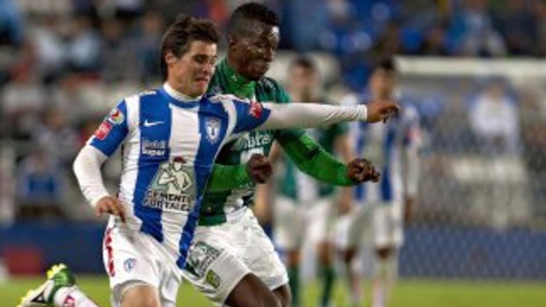 León empató 1 - 1 con Pachuca en el estadio Hidalgo