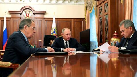 Putin le gana la partida a Occidente al anunciar un cese del fuego en Siria