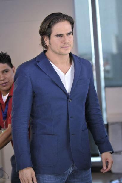 Daniel Arenas fue otro de los galanes de Teresa.