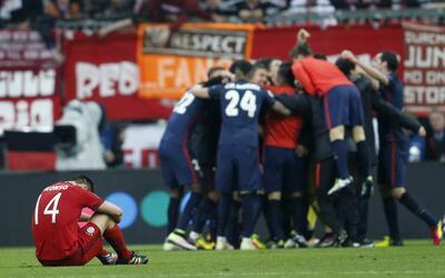 El Atlético clasificó a la final pasada a costa del Bayern.