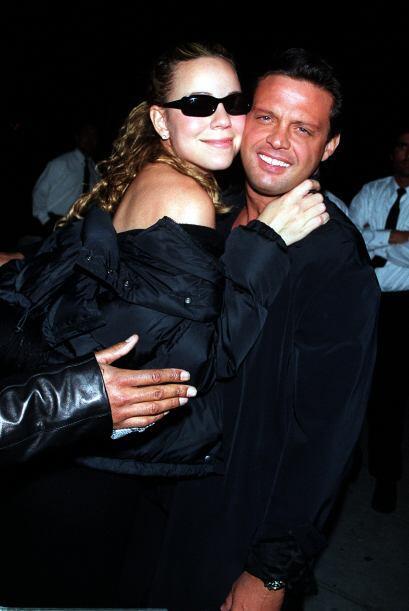 Mariah Carey tampoco se pudo resistir a los encantos de El Sol.