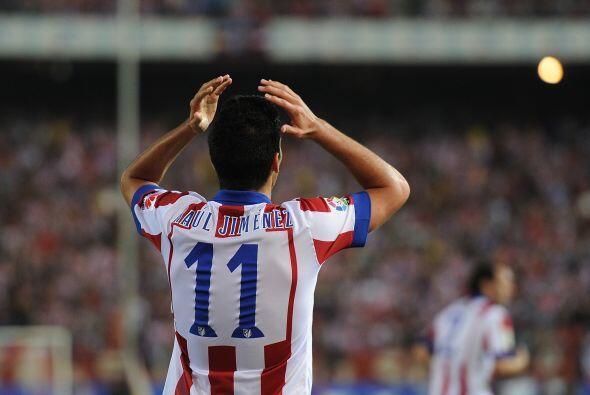 Si bien es cierto el delantero mexicano está dispuesto a luchar p...