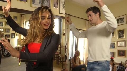Clarissa y Danilo se fueron a una clase de flamenco en España y tienen q...